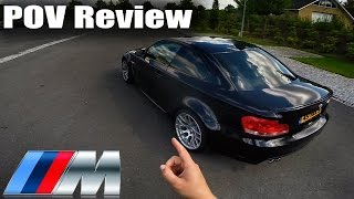 Download BMW 1M 1 Series M Coupe Review POV Test Drive Video