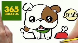Download COMO DIBUJAR UN PERRO BULLDOG PASO A PASO: Os enseñamos a dibujar un perro fácil para niños Video