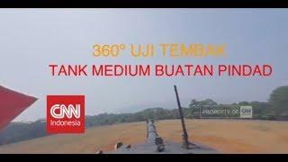 Download Eksklusif & Pertama! 360º Naik Tank Medium Buatan Anak Bangsa Saat Uji Tembak Video