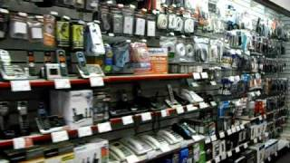Download Tour of a Radioshack Store Video