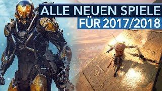 Download Alle Spiele-Neuankündigungen für 2017/2018 - Neue Spiele auf der E3 Video