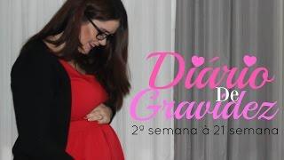 Download DIÁRIO DE GRAVIDEZ | TUDO até 21ª semana (Fotos, videos, relatos e muito mais) Video