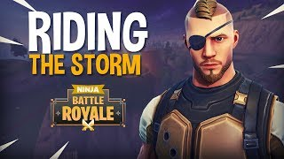 Download Riding The Storm!! - Fortnite Battle Royale Gameplay - Ninja & Hysteria Video