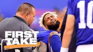 Download J.J. Watt or Odell Beckham Jr.: Which injury is bigger loss? | First Take | ESPN Video