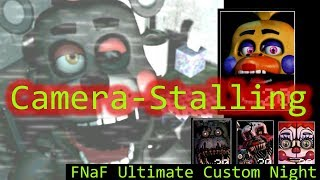 Download FNaF Ultimate Custom Night - Camera-Stalling and Office-Stalling (Lefty, Rockstar Chica, Plushies) Video