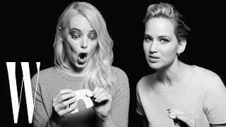 Download Jennifer Lawrence and Emma Stone Have a Lot in Common | Screen Tests | W Magazine Video