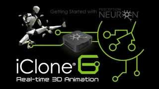 Download iClone Live Mocap with Perception Neuron Video