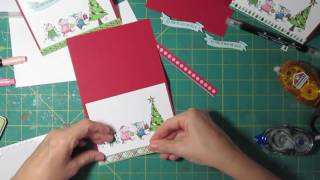Download Cardmaking 5 Different Holiday cards 1 Stamp set 1 6x6 Video