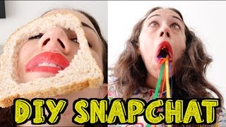 Download DIY SNAPCHAT FILTERS! Video