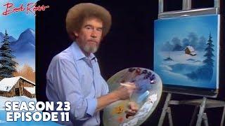 Download Bob Ross - Frozen Beauty in Vignette (Season 23 Episode 11) Video