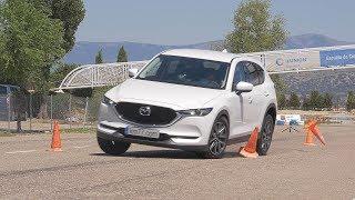 Download Mazda CX-5 2017 - Maniobra de esquiva (moose test) y eslalon | km77 Video