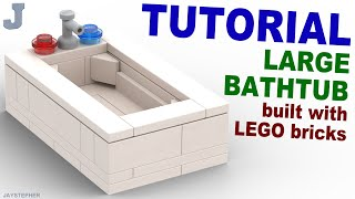 Download Large LEGO Bathtub How To Tutorial Video
