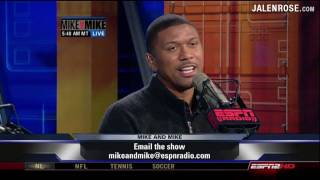 Download Jalen Rose talks about his father, former NBA player Jimmy Walker - Mike & Mike 5/15/09 Video