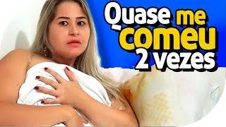 Download QUASE ME COMEU 2 VEZES Video