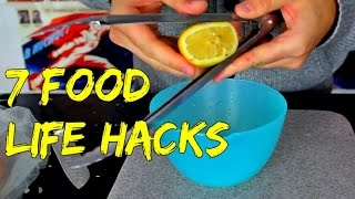 Download 7 Food Life Hacks Video