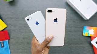 Download iPhone 8 Unboxing: Silver vs Gold! Video