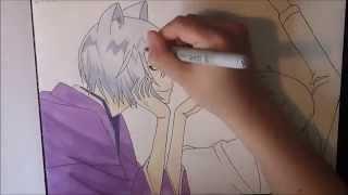 Download Drawing Tomoe & Nanami from Kamisama Hajimemashita [ 神様はじめました ] Video