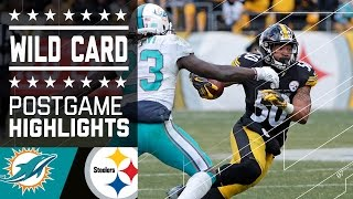 Download Dolphins vs. Steelers | NFL Wild Card Game Highlights Video