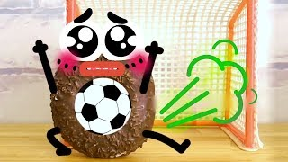Download FRUITS AND VEGETABLES DOING STRANGE THINGS - 24/7 DOODLES Video