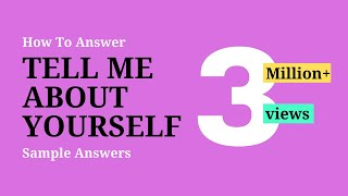 Download Tell Me About Yourself Self - Best Answer ✓ Video