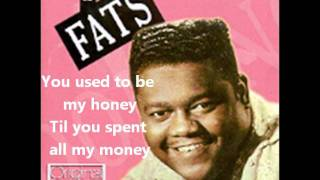 Download Fats Domino- I'm Walking To New Orleans(With Lyrics) Video