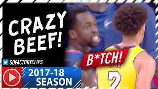 Download Lonzo Ball vs Patrick Beverley CRAZY Beef Highlights (2017.10.19) - Calling Lonzo a ″B#tch″ Video