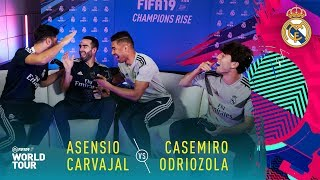 Download FIFA 19 | Real Madrid Player Tournament | ft. Casemiro, Asensio, Carvajal, Odriozola Video