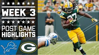 Download Lions vs. Packers | NFL Week 3 Game Highlights Video