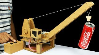 Download How to Make Remote Control Hydraulic CRANE From Cardboard Video
