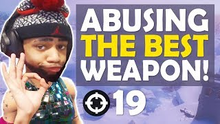 Download ABUSING THE BEST WEAPON IN FORTNITE.... Video