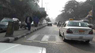 Download Cairo taxi ride Direction Giza Video