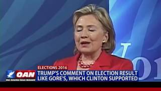 Download Flashback: Hillary Clinton election result hypocrisy Video