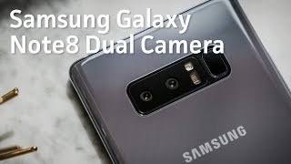 Download Galaxy Note8 dual camera hands-on Video