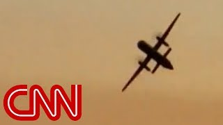 Download See stolen plane flying moments before crash Video