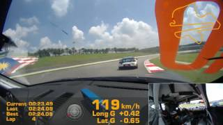 Download 2017 Blancpain GT Series Asia Sepang - Race 2 Start - Cayman GT4 Clubsport MC Video
