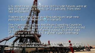 Download Oil markets tepid ahead of Nov. 30 OPEC meeting Video