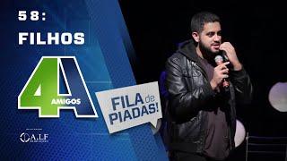 Download FILA DE PIADAS - FILHOS - #58 Participação Mhel Marrer Video