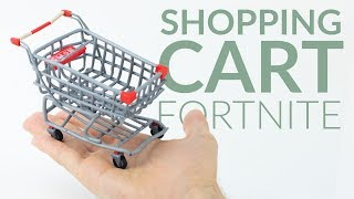 Download Shopping Cart (Fortnite Battle Royale) – Polymer Clay Tutorial Video