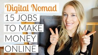 Download BECOME A DIGITAL NOMAD: 15 JOBS TO MAKE MONEY ONLINE Video