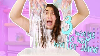 Download 3 WAYS TO USE WATER SLIMES ~ HOW TO MAKE THE BEST WATER SLIMES ~ Slimeatory #397 Video