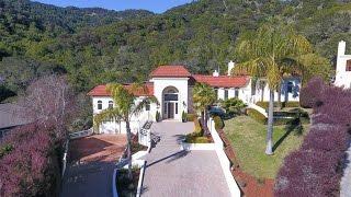 Download Mediterranean Style Home in San Rafael, California Video