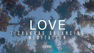 Download ALL 7 Chakras Balancing - with LOVE - Shaman Drum & RAV Relaxing Meditation Journey Video