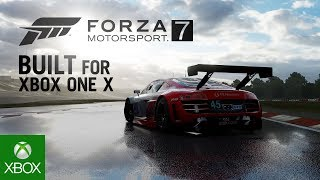 Download Forza Motorsport 7: Built for Xbox One X Video