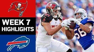 Download Buccaneers vs. Bills   NFL Week 7 Game Highlights Video