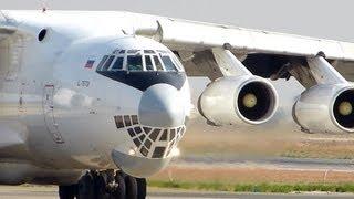 Download Ilyushin IL-76TD ил 76 Takeoff [HD] Video