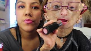 Download Sunset makeup look on my mom! Video