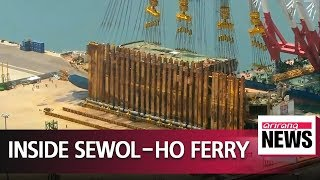 Download Inside of Sewol-ho ferry to be revealed to press for first time since turned upright Video