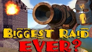 Download Biggest Raid in Rust History? (Raid Cam) Video