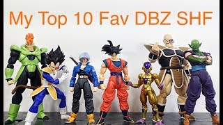 Download My Top 10 Favorite SH FIGUARTS DRAGON BALL Z Action Figures DBZ Toys Video