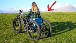 Download Homemade Off Road Electric Wheelchair - She had NO Idea! Video